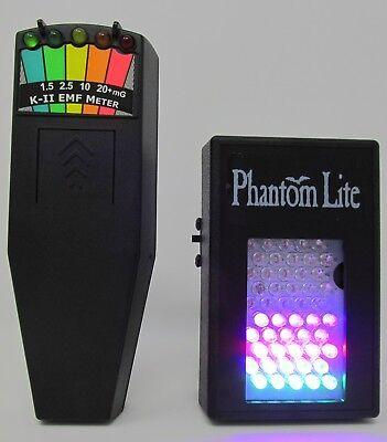 K2 EMF Meter & Phantom FSX Full Spectrum Illuminator for Parnaormal Photography for sale  Saint Augustine
