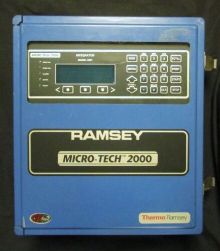 Thermo Ramsey Micro Tech 2000 Model 2301 Integrator Module Scale Controller