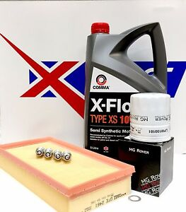 MG ZS / R45 Genuine MG Service Kit. Air Filter , Oil Filter , Spark Plugs 5L OIL