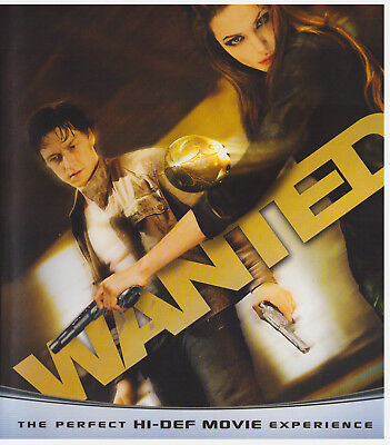 WANTED (Blu-ray Only, 2008)