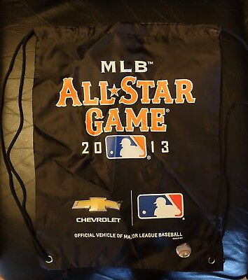 - NEW - MLB All Star Game 2013 - Citi Field - Cinch Sack/Drawstring Backpack