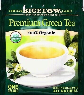 Bigelow Premium Chinese Green Tea 100% USDA Organic, Individually Wrapped ()
