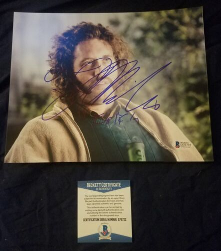 T.J. Miller Beckett Authentic Hand Signed 8x10 Photo Silicon Valley Erlich