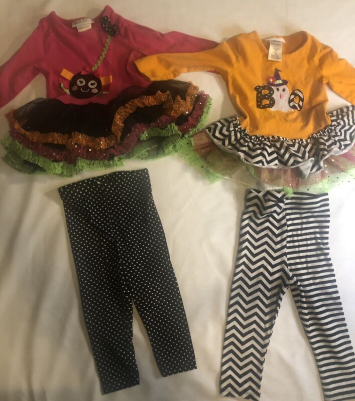 baby toddler girls size 18 months Halloween outfits sets tulle tutu boutique