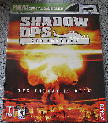 Shadow Ops: Red Mercury (Prima Game Strategy Guide) Microsoft XBOX