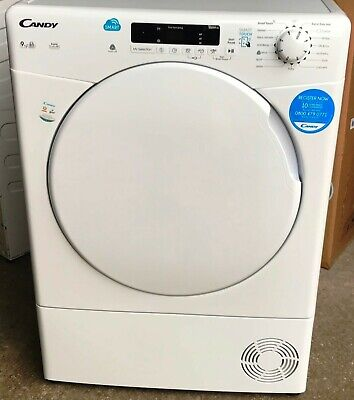 "Candy ""CSC9DF"" Smart Touch 9kg Condenser Sensor Tumble Dryer  NEW  RRP £259"