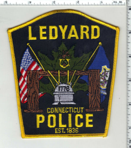 Ledyard Police (Connecticut) 2nd Issue Shoulder Patch