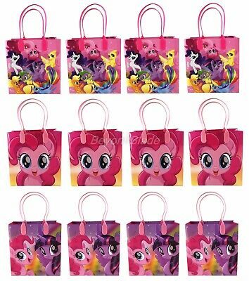 My Little Pony Goody Bag Party Goodie Gift Birthday Candy Bags 12pc - My Little Pony Bags