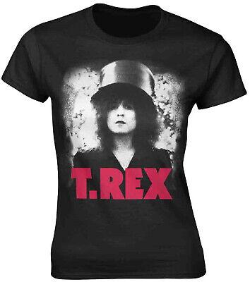T.REX MARC BOLAN The Slider WOMENS GIRLIE T-SHIRT OFFICIAL MERCHANDISE (T-rex Merchandise)