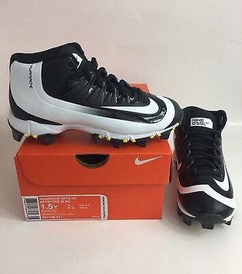 336ce35b41 New Nike Kids Huarache 2KFilth Keystone Mid Baseball Cleats Sz 4Y #807138  017