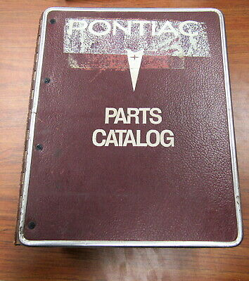 1983 1985 GMC Steel Conventional Truck C5D Illustration Parts Catalog Manual Set 1983 Gmc Truck Parts