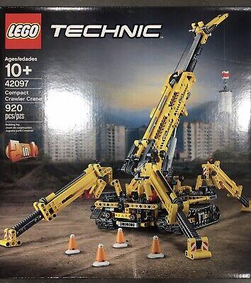 LEGO Technic Compact Crawler Crane 42097 Building Kit 920 Pieces Brand New 10+