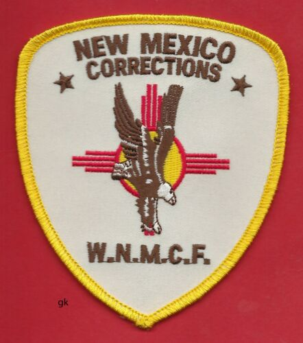 WESTERN NEW MEXICO CORRECTIONS POLICE SHOULDER PATCH