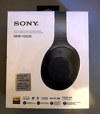 NEW / SEALED Sony MDR-1000X MDR1000X Wireless Headphones Black