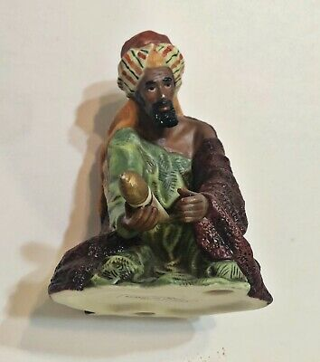 O'Well Hand Painted Porcelain Christmas Nativity Wiseman King Balthasar