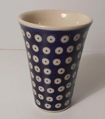 Schöne Kaffee / Tee Tasse / Becher aus Bunzlauer Keramik; 200 ml (*5017)