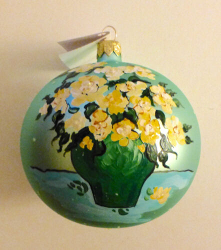 MIA YELLOW ROSE Christmas Ball Ornament ..STORE EXCLUSIVE..Poland