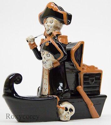 Yankee Candle Boney Bunch Pirate Ship Treasure Tea Light Candle Holder - Pirate Lights