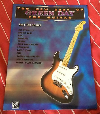 The New Best of Green Day for Guitar (Easy Tab Deluxe Book Melody Chord