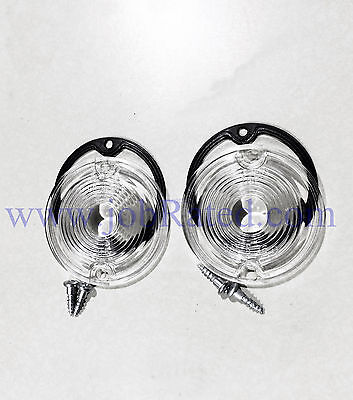 Dodge Truck 66 67 68 69 70 71 Reverse Backup Light Lenses & Gasket & Screws (Backup Light Lens Gasket)