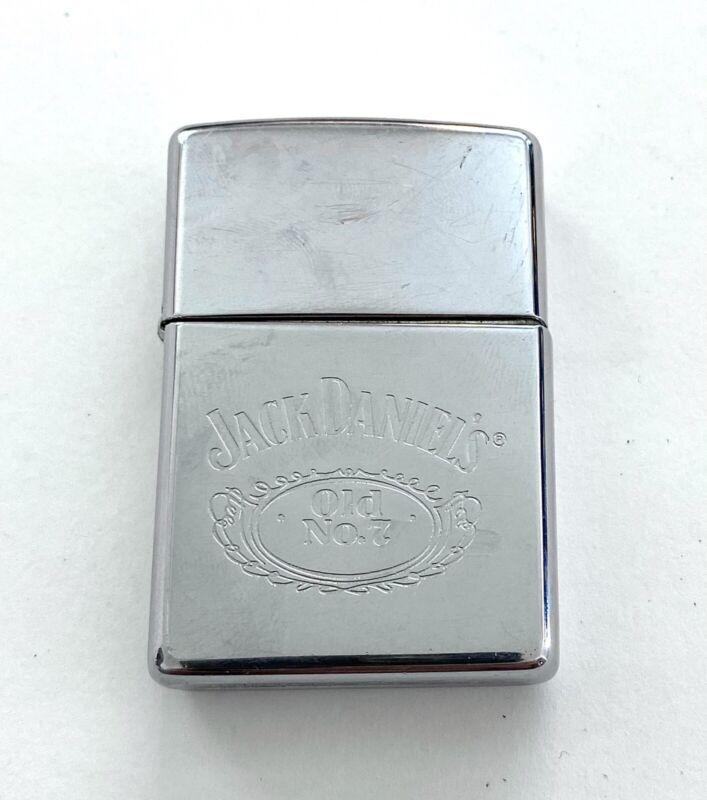 •Vintage 1998 Zippo Lighter•Jack Daniels Old No. 7 Tennessee Whiskey•Tobbaciana•