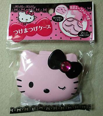 DAISO JAPAN Hello Kitty PORTABLE False eyelashes CASE F/S