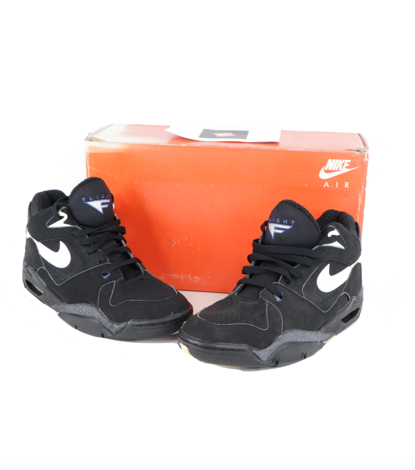 NOS Vintage 90s Nike Air Bound Force Basketball Sneakers Sho