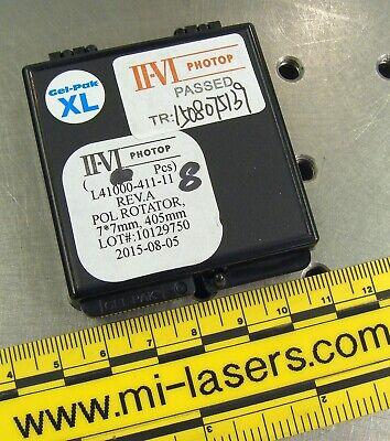 Polarization Rotator Optic 405nm Violet Laser Diode Waveplate Melles Griot