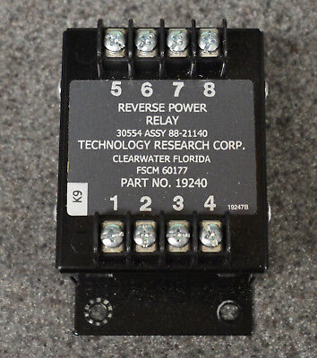 Trc 19240 Reverse Power Relay 88-21140 Military Tq Mep Diesel Generator