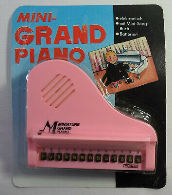 ECHO VTG 80's MINI PINK GRAND PIANO w/ SONG BOOK TAIWAN MADE