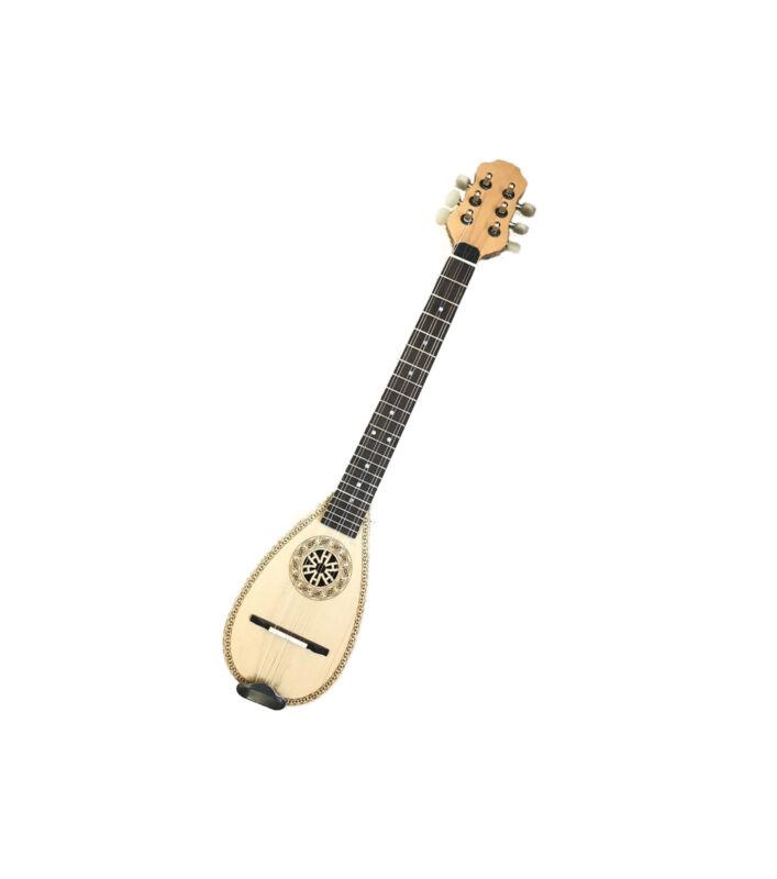 Baglama Baglamas Greek Traditional Music Byzantine Handmade Small Bouzouki