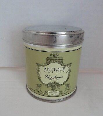 Antique Garden Gardenia (CALIFORNIA FLEURISH Antique Garden Gardenia Royale Perfumed Candle Tin Can)