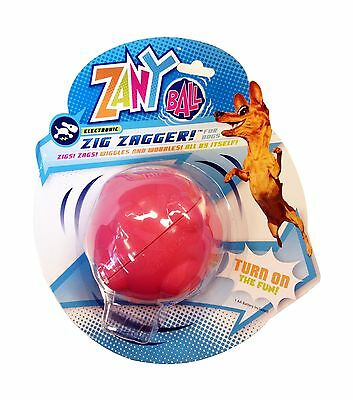 Zany Bunch Zany Ball - Wiggling Jiggling Electronic Dog Toy Free Shipping