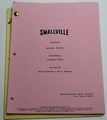 Brian Peterson / Smallville, 2004 TV Series Script, Superman Season 3 Episode 21
