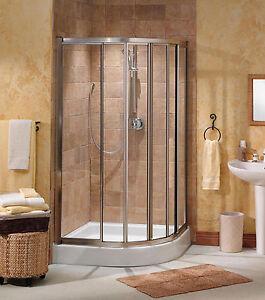 Quarter Round Shower Doors Pictures