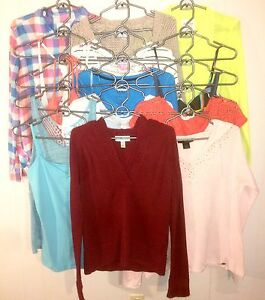 15pc Women's Tops Lot #18
