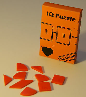 IQ Geek puzzle Heart ( beginner level ) - Beginner Level
