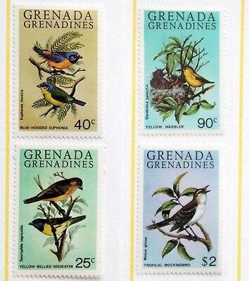 Grenada Grenadines – 1980 Birds – Un.Mint – (MNH) (R3)
