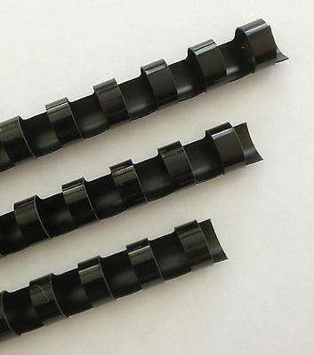 58 Plastic Binding Combs - Black - Set Of 25