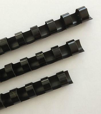 58 Plastic Binding Combs - Black - Set Of 25