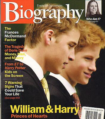 Prince William Prince Harry Nov 2001     60