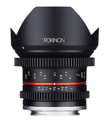 Rokinon Cine CV12M-MFT 12mm T2.2 Cine Fixed Lens for Olympus