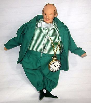Munchkin Land (The Wizard Of Oz Munchkin Land Mayor Doll Pocket Watch No Tag)