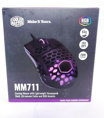 Cooler Master MM711 Advanced Wired Gaming Mouse