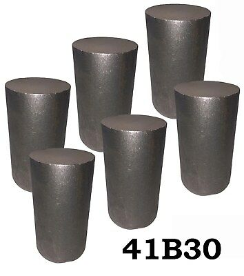 2.75 Round 4130 Steel Alloy Boron Rolled Bar Billets 6 4-5 Long 41b30 Hl