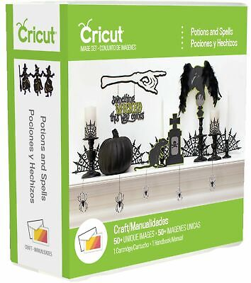 Cricut Halloween Cards (CRICUT *POTIONS AND SPELLS* HALLOWEEN CARTRIDGE *NEW* CARDS, PARTY)