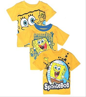 T Shirt Boys Toddler Baby Tee Short Sleeve Spongebob 12 18 24 Months new - Spongebob 24