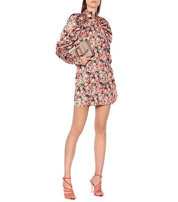 NWOT $380 ROTATE By Birger Christensen Kim Floral Pull Sleeves Dress 8