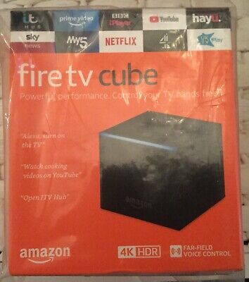 AMAZON Fire TV Cube 4K with Alexa Brand New In Sealed Box