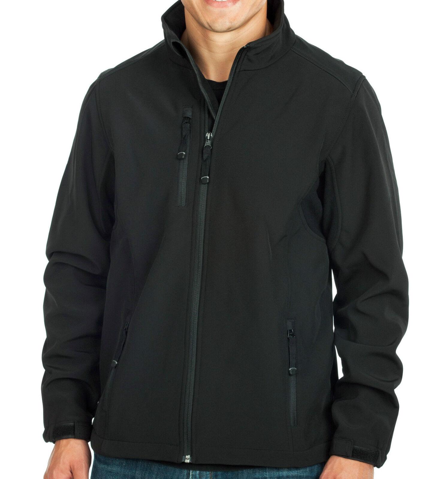 a3839a2005bad PEACHES PICK REALTREE XTRA HUNTER CAMO BLACK Soft Shell Active Jacket Mens  S-5XL